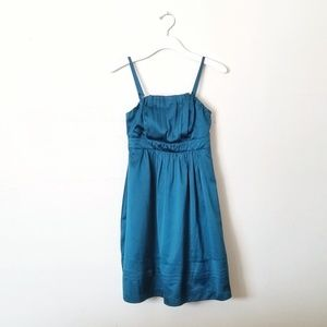 NWT The Limited Teal dress size 0 NEW